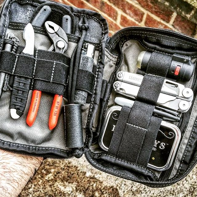 Maxpedition Fatty Organiser Pouch and assorted EDC gear