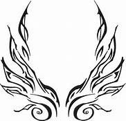 Sexy Female Wing Tattoos - Bing Images But put across my arms starting from the middle of the shoulder blades