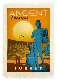 Photocholics: Vintage Designed Turkey Posters by Emrah Yucel