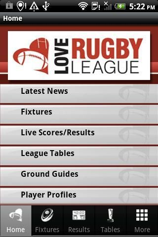 Keep your finger on the pulse with everything from the world of rugby league with the Love Rugby League mobile app.<br/><br/>With live scores from Super League, Championship, Championship 1 and the NRL, you will never miss a point, whether you're following the games at home, in the pub or if you've live at another game.<br/><br/>Stay up to date with all the latest breaking news and views when you're on the move.<br/><br/>Check out all the latest stats, including fixtures and results and…