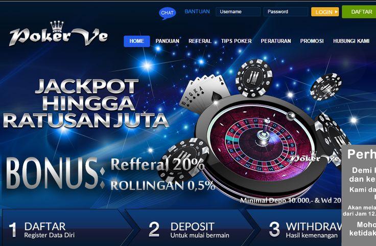 PokerVe - Poker Online, Domino Online, Terpercaya