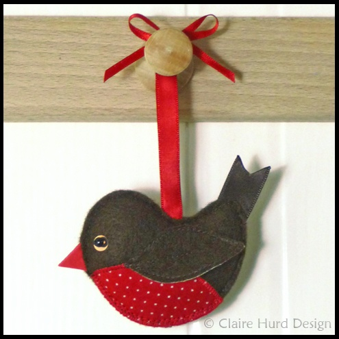 Christmas Craft Robins