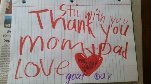 The Stir-Parents Find 'Still With You' Note From 6-Year-Old Son Days After He Dies (PHOTO)