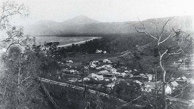 Port Douglas early last century and Four Mile Beach.