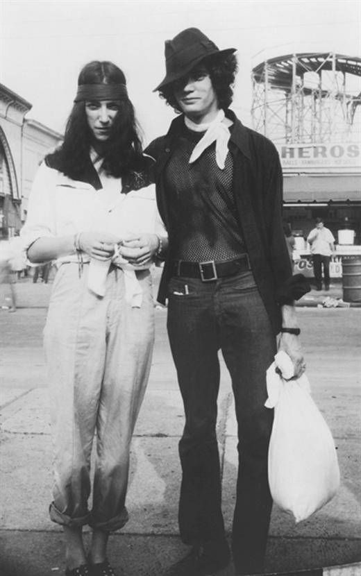 Patti Smith and Robert Mapplethorpe, Coney Island