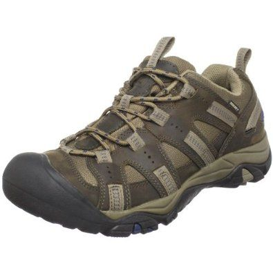 Keen Men's Siskiyou Waterproof Trail Shoe Keen. $90.00. Rubber sole. Waterproof. Leather and mesh. Washable