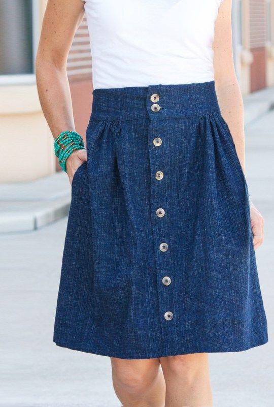 Anywhere Skirt-One Little Minute Blog-3
