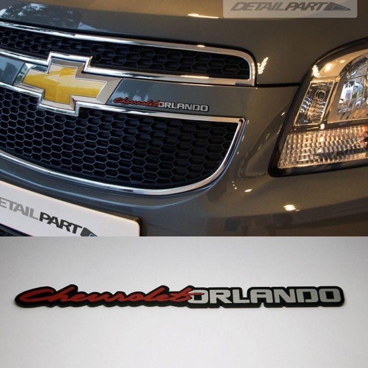 Detailpart Car Slim Emblem For Chevrolet Orlando #HaNA