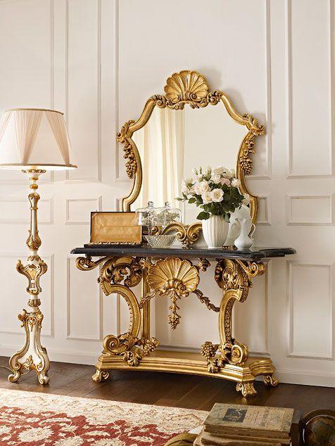 Mobili consolle classiche e di lusso in stile veneziano e fiorentino - Andrea Fanfani