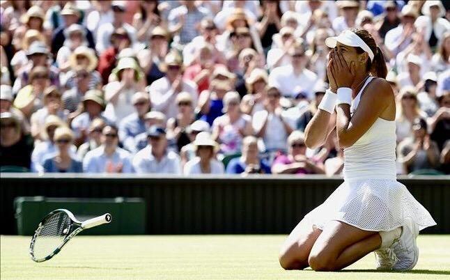 Garbine Muguruza -- Wimbledon 2015