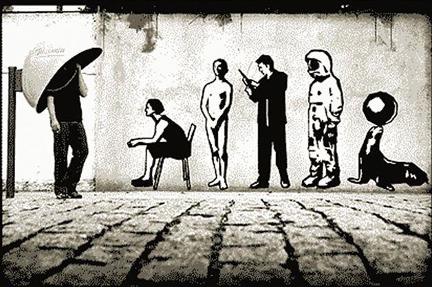 Conheça a arte com vida do grafiteiro brasileiro Alexandre Orion