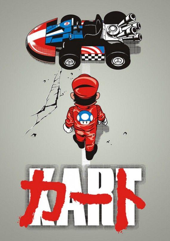 Les meilleures parodies de l'affiche du film d'animation Akira