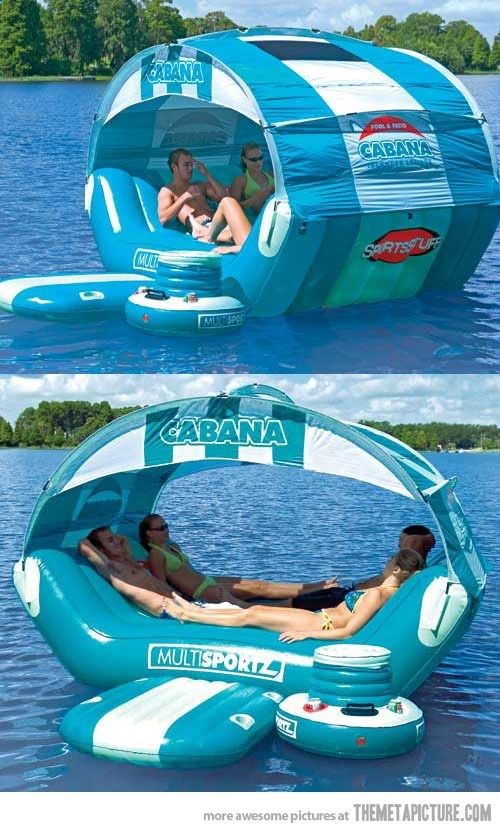 This is awesome! Lake. / pool blow up float / raft / summer fun