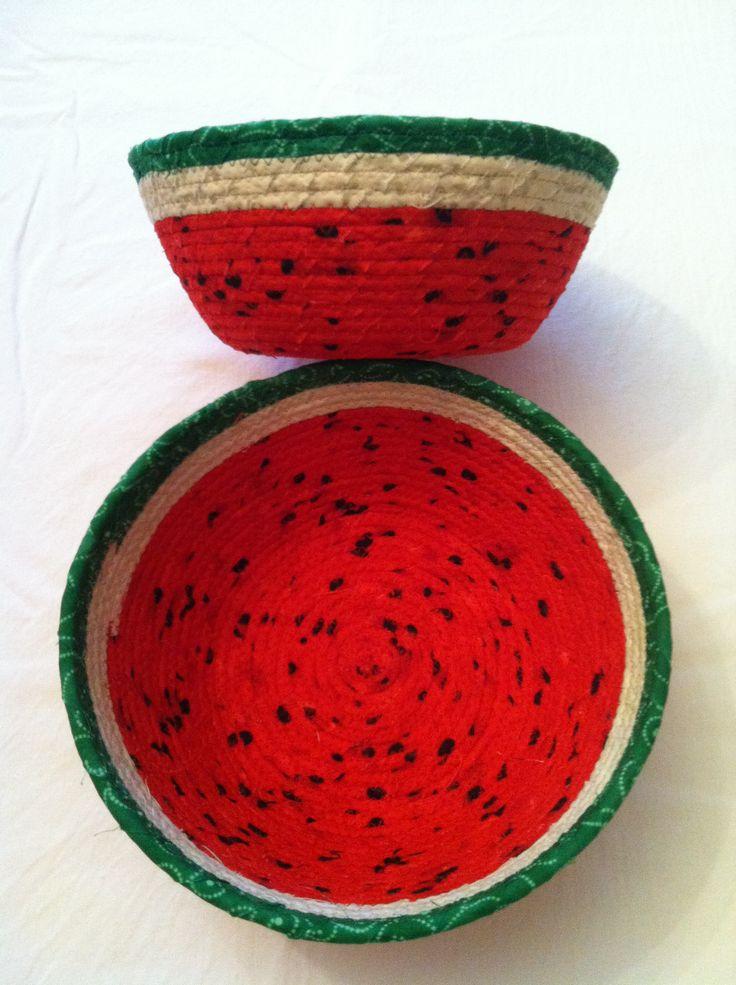If It's Fabric Tess. Watermelon basket.