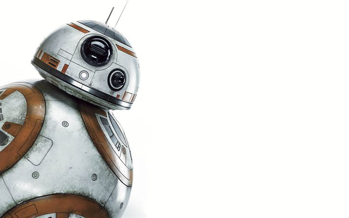 Download wallpapers Star Wars, 4k, art, BB8, robot