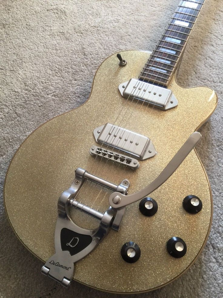 Guild De Armond M 75 series les paul with Gibson P90 pickups