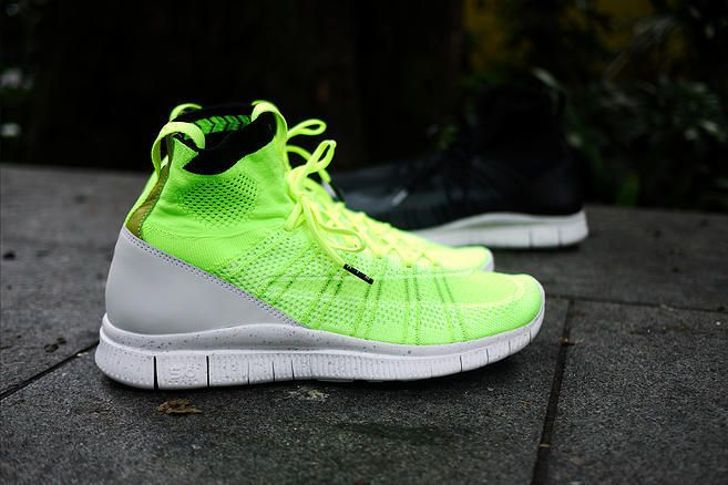 83adec48064e Feb Shoes 2017 Nike-Free-Flyknit-Mercurial-Superfly-SP-Volt Nike ...