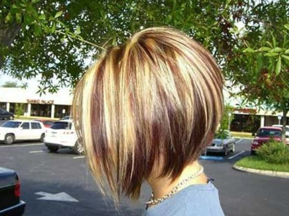 Heathers hair do...Really like the cut, coloring this way is not for me. I like more dark in mine.