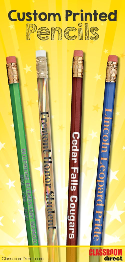10% OFF Rose Moon custom printed pencils! Enter promo code: 081CUSTOMPENCIL at checkout. Offer expires 3/3/2016.