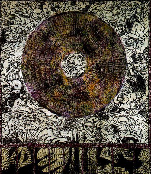Pierre Alechinsky - Compass