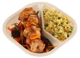 Příklad dietního, nutričně vyváženého jídla do krabičky, dodavaného až do domu