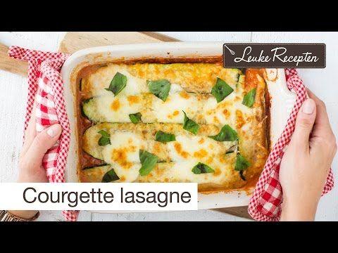 Video: courgette lasagne