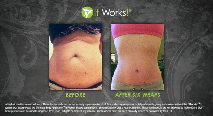 After 6 wraps this lovely lady reached her goal! :)