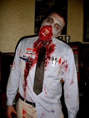 Top 10 Best Zombie Costumes - Mr. Costumes Blog 2,3,8,9 are my fav. I'm liking the hazmat suit one great idea.