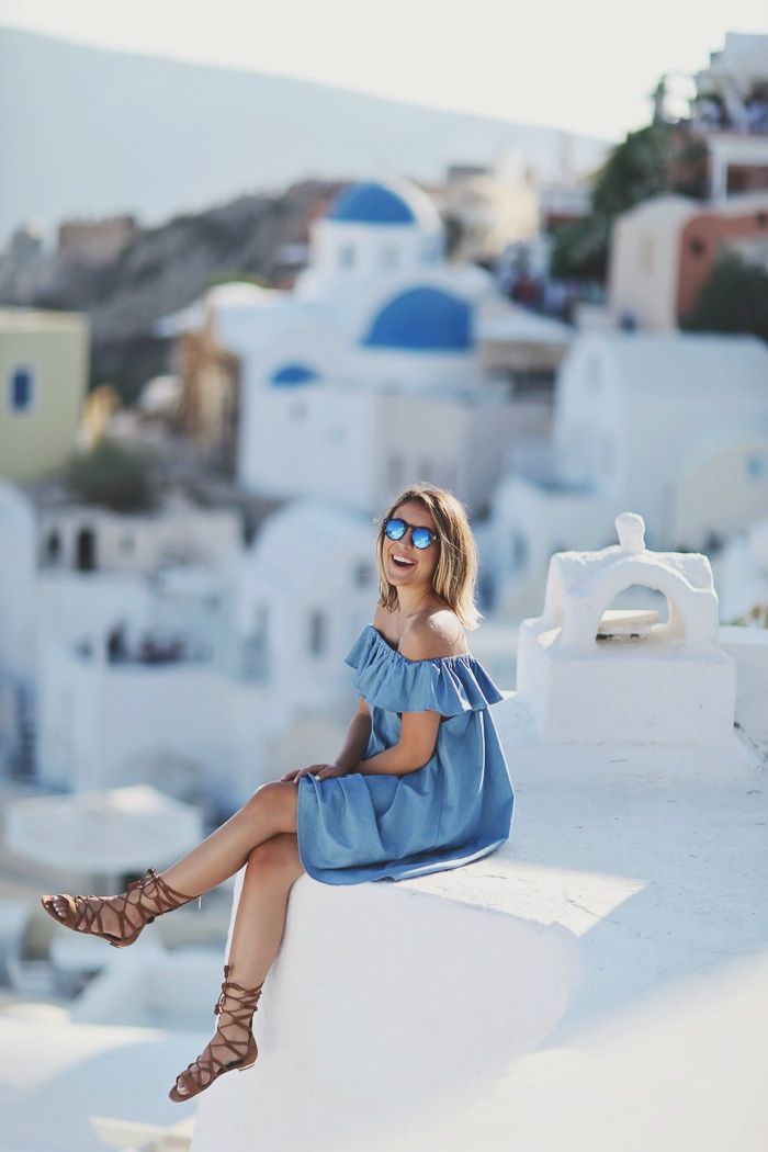 Santorini, Greece. Mediterranean Summer Europe :: Beach + Bikinis:: Sun Kissed :: Boho Lifestyle:: Style Inspiration :: France ♥ Greece ♥ Italy ♥ Lebanon ♥ Malta ♥ Cyprus ♥ Spain ♥ Morocco ♥
