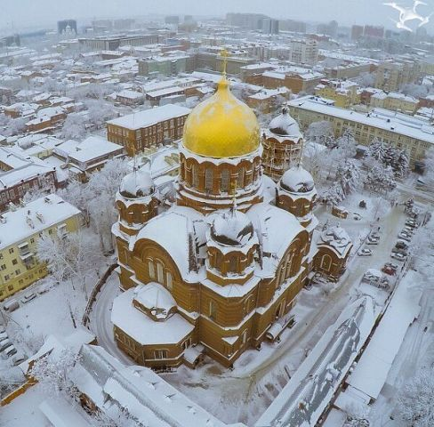 Krasnodar, winter