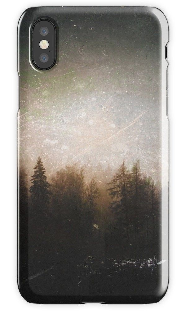 'The grudge' iPhone Case/Skin by HappyMelvin. #photography #forests #nature #iphone #cases