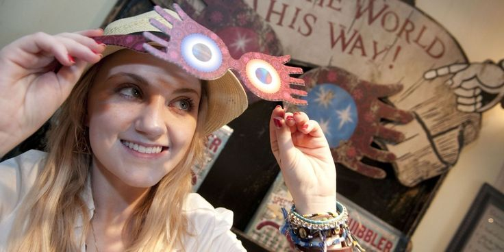 """Luna Lovegood Wants You to Try Out for the New """"Harry Potter"""" Movie - Cosmopolitan.com"""
