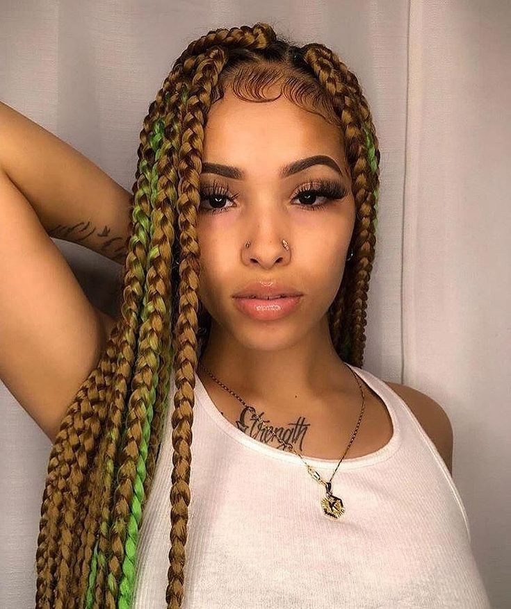 24 Inches 5 packs jumbo box braids hair xpression in 2020 ...
