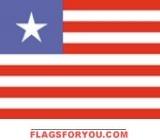 2' x 3' Liberia flag