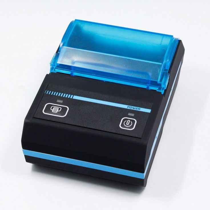 Bluetooth thermal printer 58mm small note wireless sticker printer two dimensional code labeing