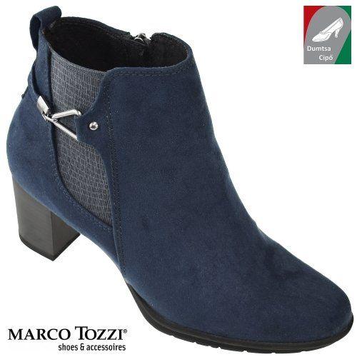 Marco Tozzi női bokacsizma 2-25340-29 805 kék