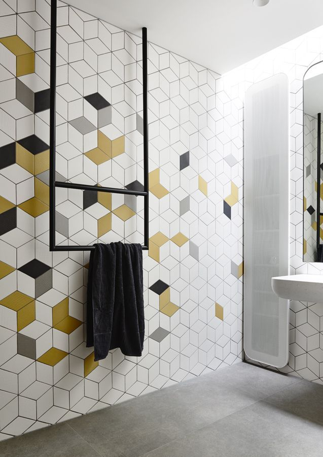 How You ll Be Decorating Your Home in 2016  According to Pinterest   Geometric Bathroom TilesGeometric. 17 Best ideas about Modern Bathroom Tile on Pinterest   Modern