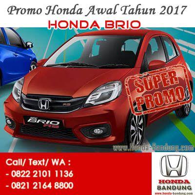 Promo Paket Kredit Super Deal DP Ringan Honda Brio Satya 2017 Bandung. Sales: 082221011136