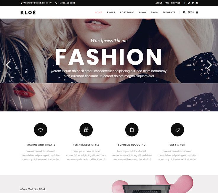 Download Best Fashion Blog, Beauty & Magazine WordPress Themes | The Most Downloaded Themes