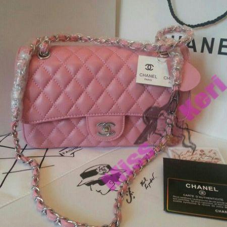 Купить сумку Chanel (Шанель) 2.55 pink, цена, интернет магазин в Украине и…