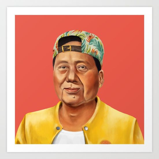 Check out society6curated.com for more! @society6 #illustration #wall #apartment #decor #homedecor #buy #shop #sale #shopping #apartmentgoals #sophomoreyear #sophomore #year #college #student #home #house #gift #idea #art #prints #worldleader #leader #world #funny #lol #mao #zedong #maozedong
