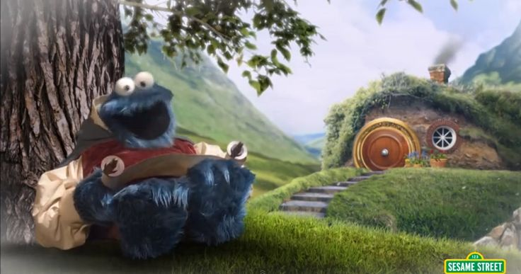 Vila Sésamo lança sua versão de O Senhor dos Anéis com o Cookie Monster | Nerdivinas