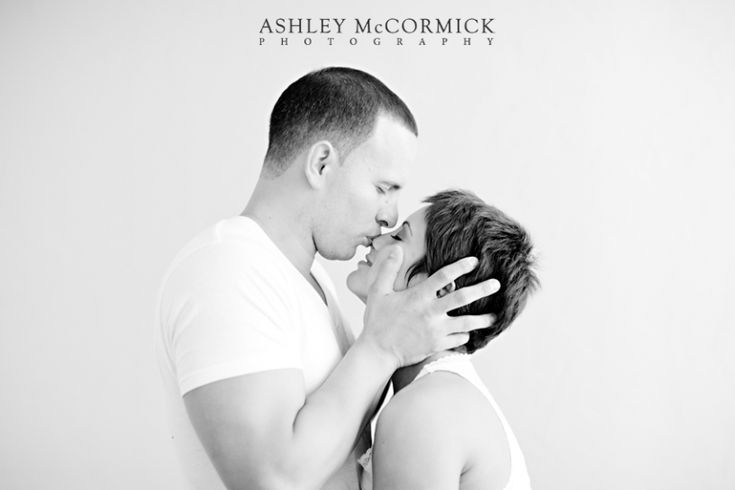 Indoor Engagement Photography! Love this picture so much Mandy! :)
