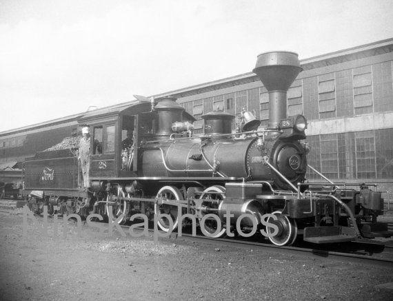 Steam Train Ford Motor Company Works Highland Park Detroit