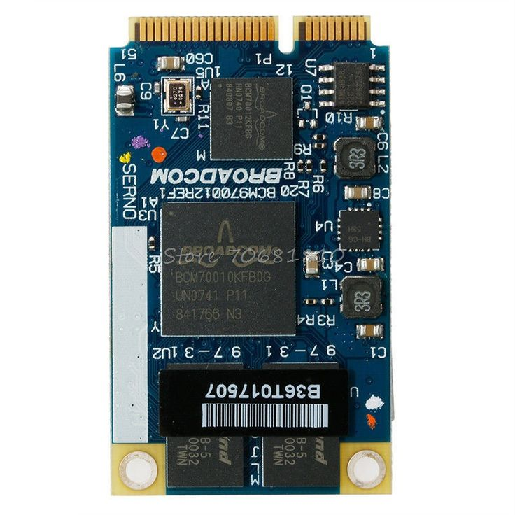 For BCM970012 BCM70012 HD Decoder AW-VD904 Mini PCIE Card For TV Netbooks -R179