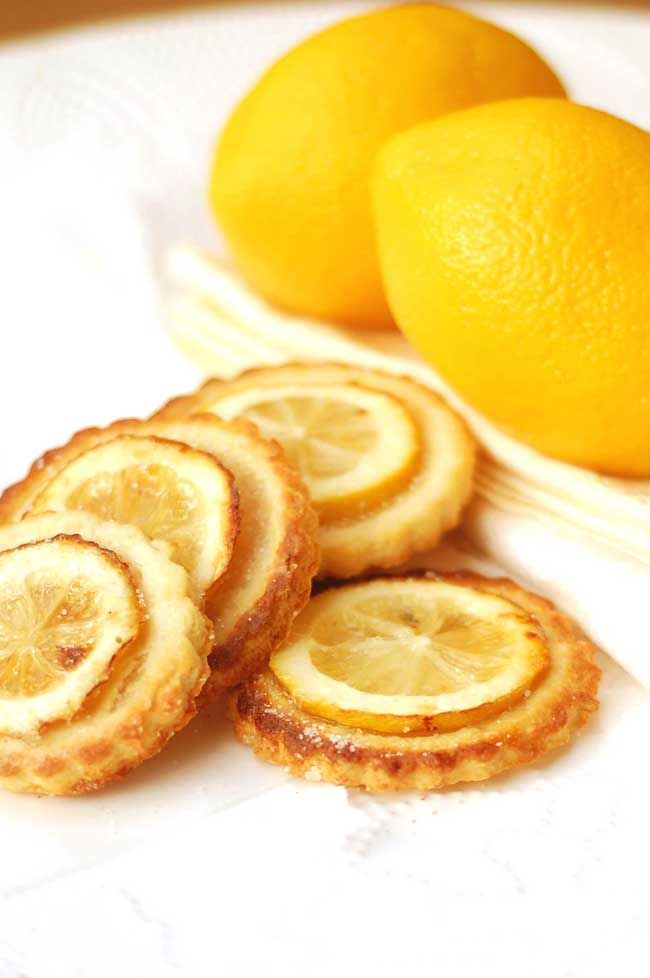 """Lemon and Almond Cookies ... a recipe from """"She Loves Simple""""."""