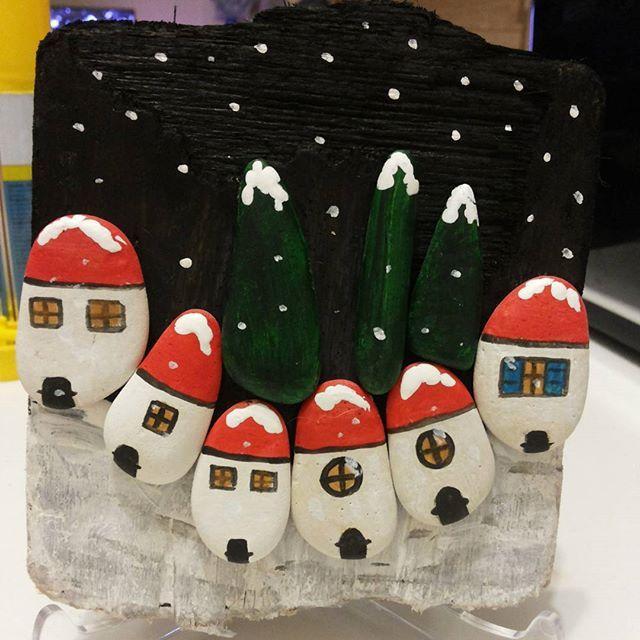 #winter #kış #snow #kar #night #gece#white #beyaz #home #ev #black #noel…