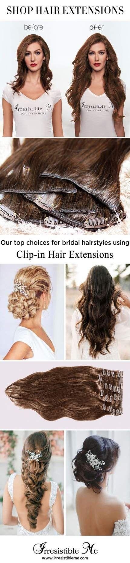 54+ Idées d'extensions de cheveux