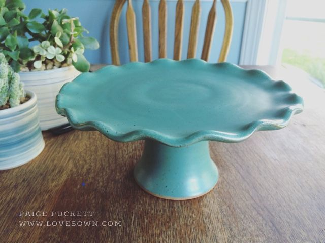 I've been on a quest to develop a simple, elegant process for throwing cake stands on the pottery wheel. They are not difficult to throw a...