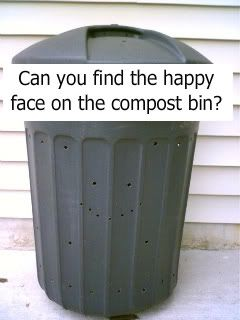 how to make a compost bin from a trash can